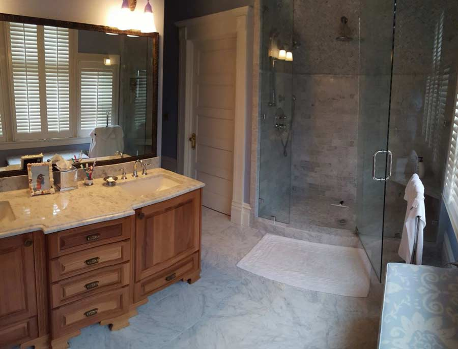 Bathroom Renovations - Drew Thatcher Construction